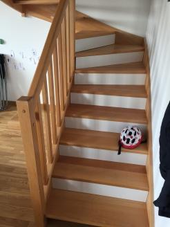 Aménagement sous escalier of le dahé en MDF peint
